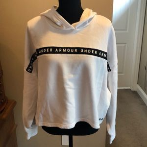 Under Armour Cropped Hooded Sweatshirt